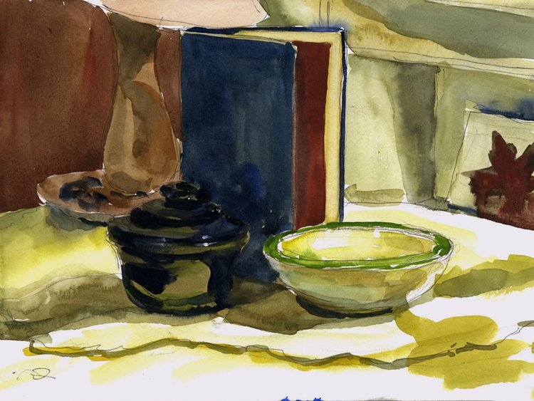 Books and Bowls