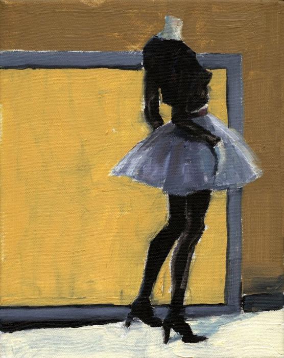 Mannequin with Short Skirt