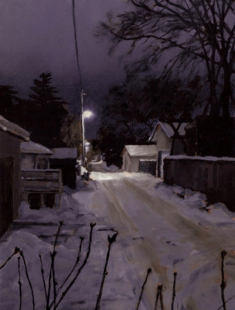 Back Lane at Night