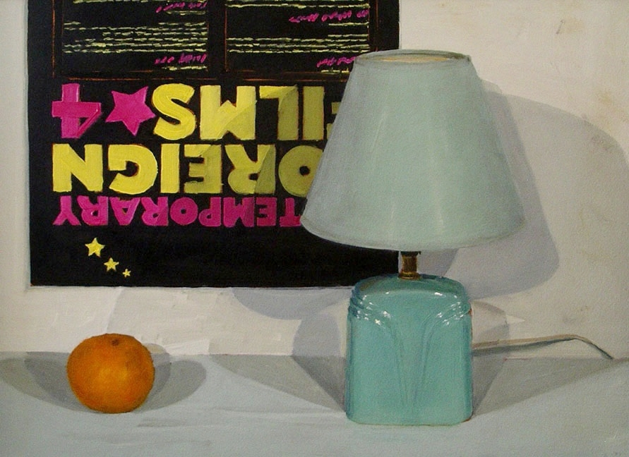 Lamp and Orange