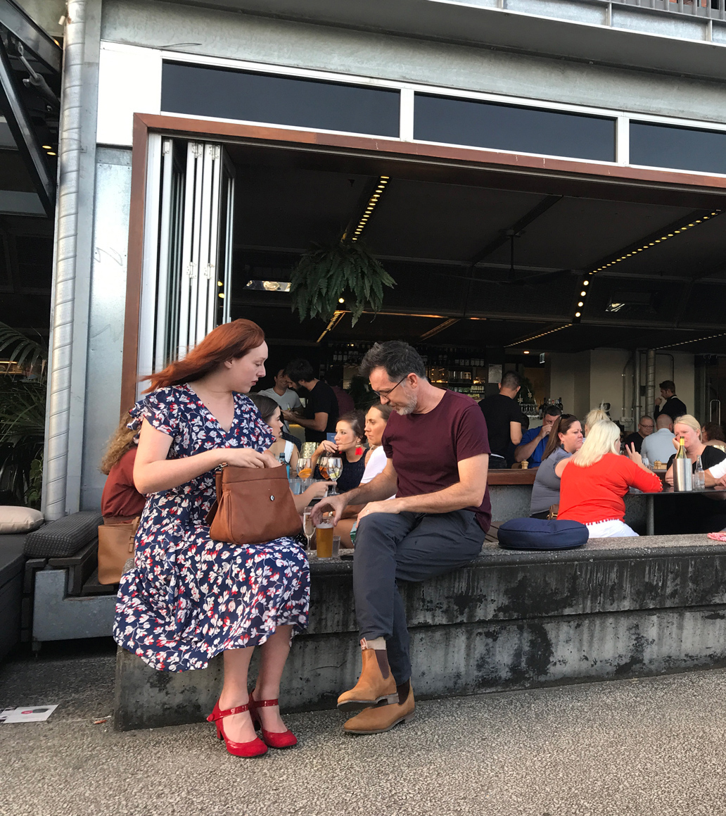 Watt Bar is part of the Powerhouse offering & perfect for pre-show drinks. It's close to Teneriffe ferry Terminal or there are 'blue badge' carparks right out the front.