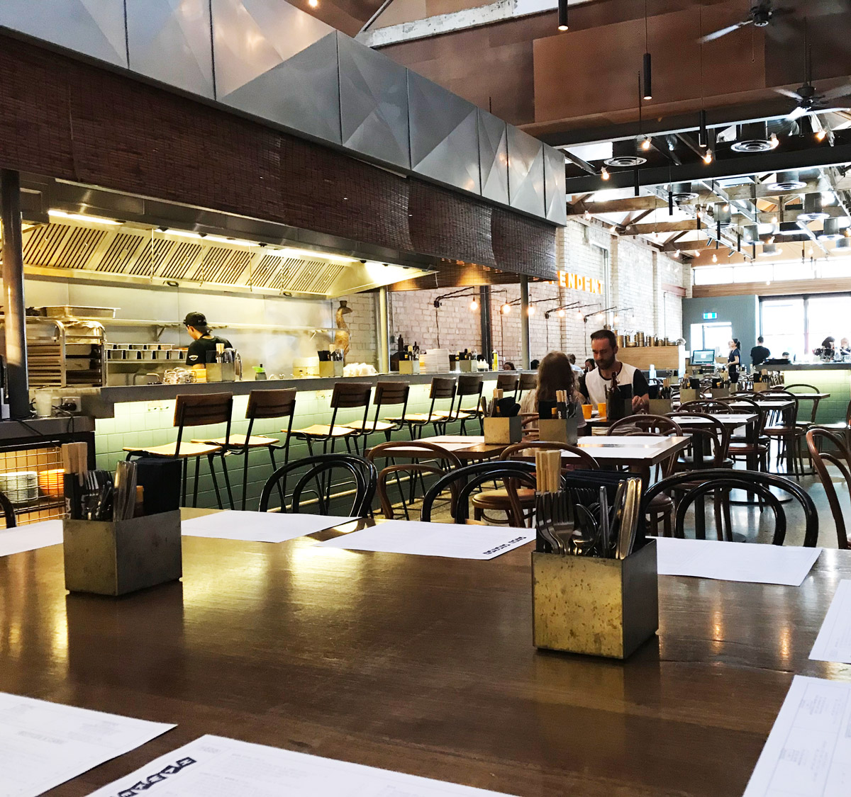 Hawker Hall - An accessible, wide & deep space