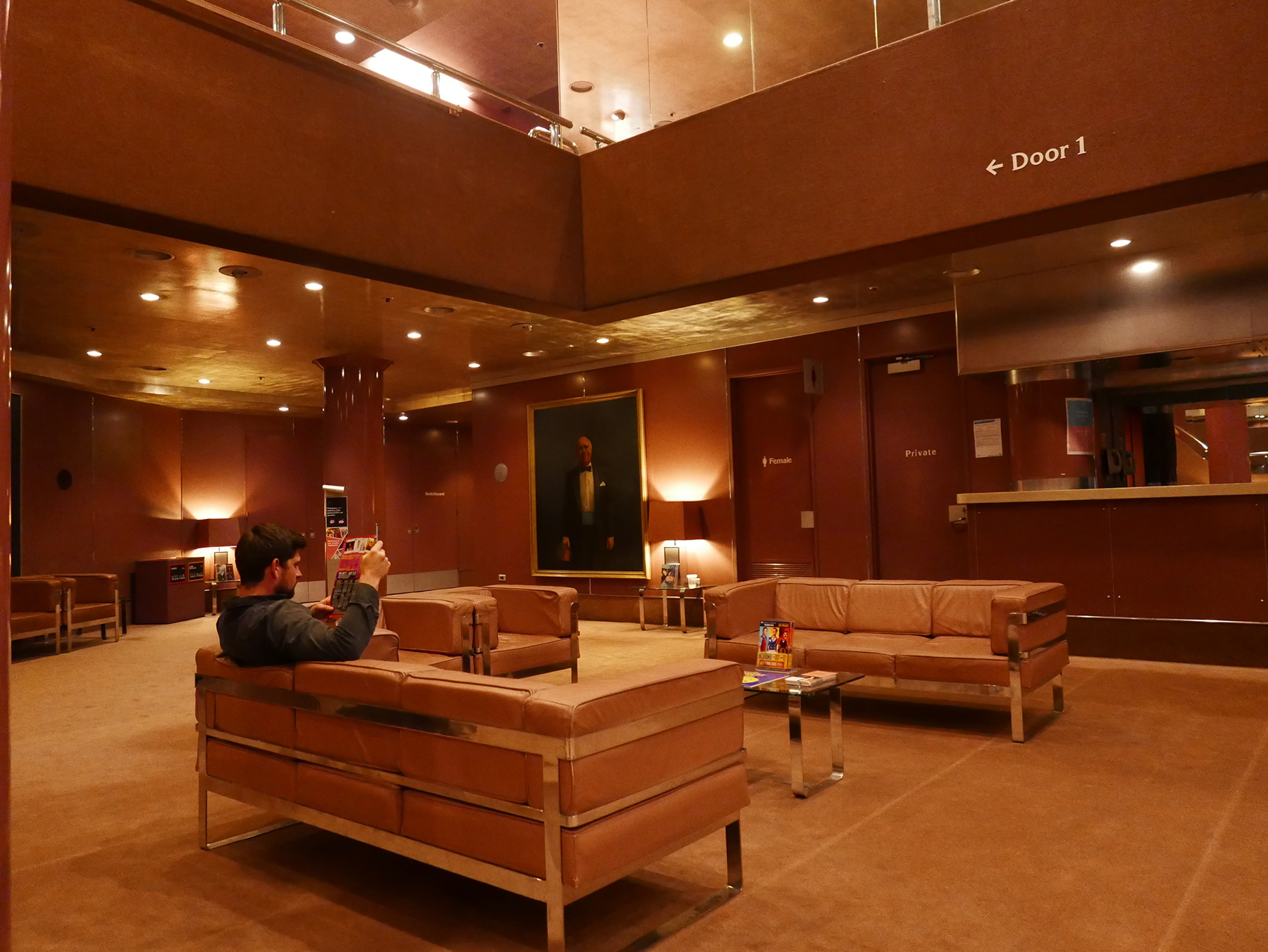 Fairfax Studio foyer and bar