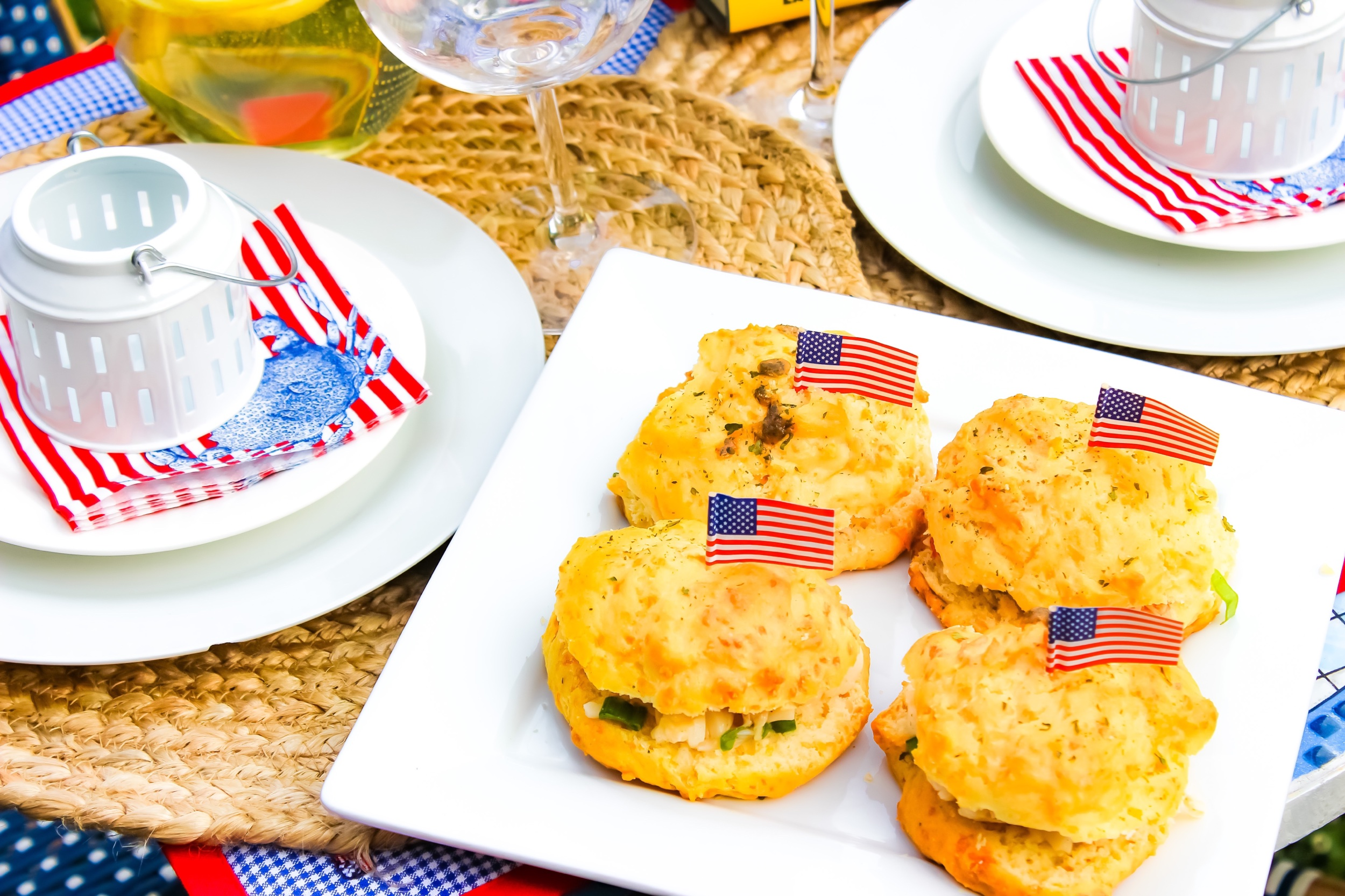 Cheddar Bay Biscuit Lobster Sliders - Your Easy Seafood Option for this Fourth of July