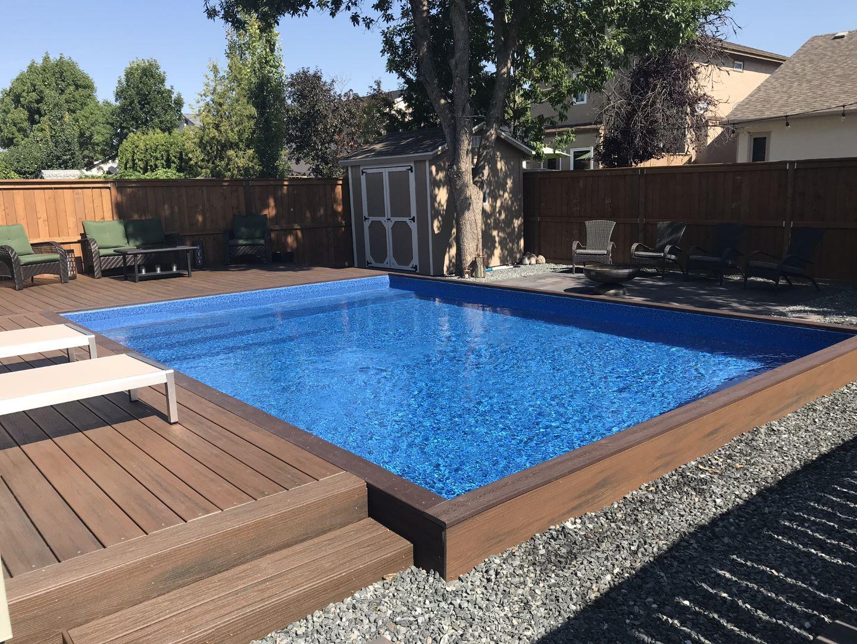 Semi Inground Pools Prestige