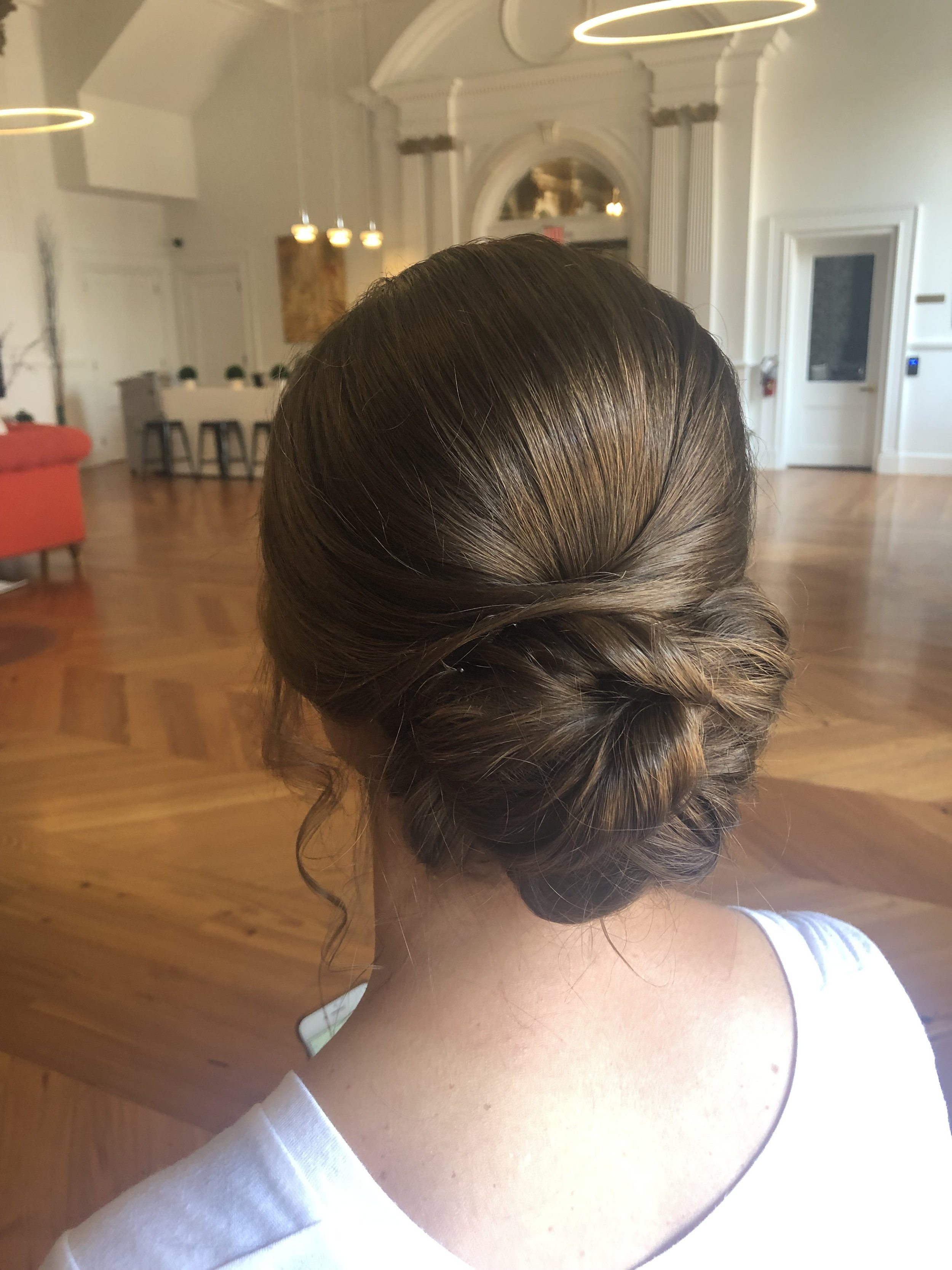 Updo work for Something You Onsite Beauty