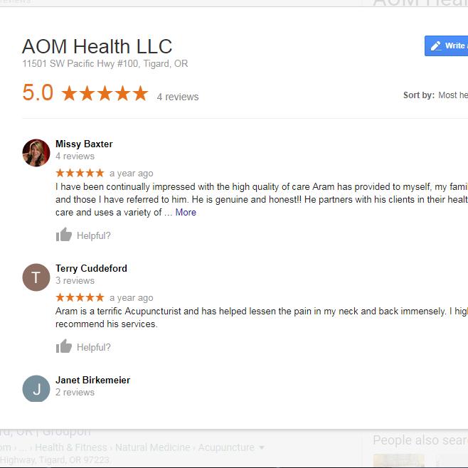 Google Reviews -