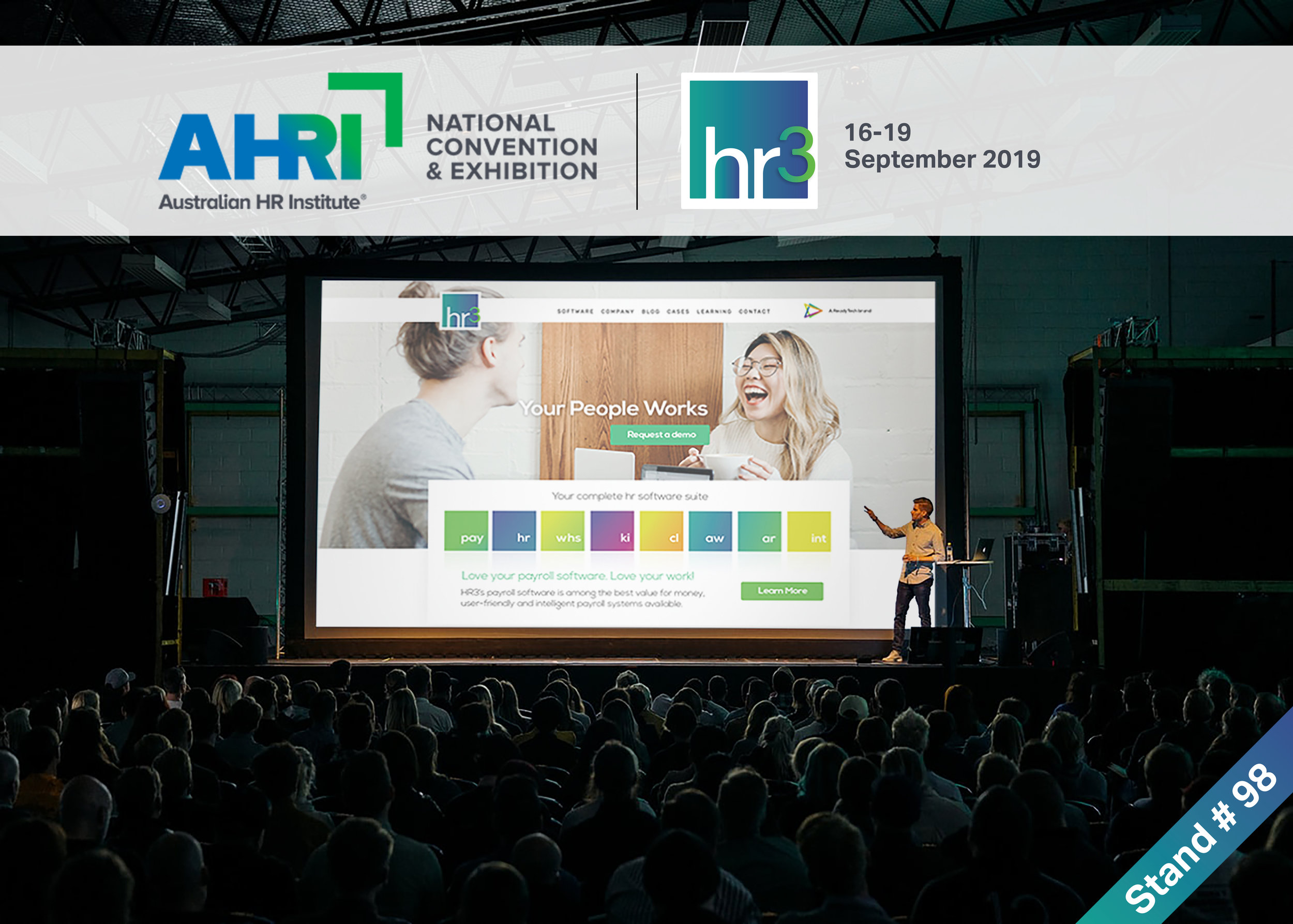 - If you want to find out more about our brand refresh, visit us at the AHRI National Convention and Exhibition in Brisbane or visit the ReadyTech website to learn more about us.