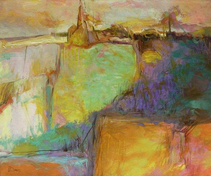 "<i> PARISH CHURCH </i> <br> Oil on canvas <br> 20"" x 24"" <br> Price: SOLD"
