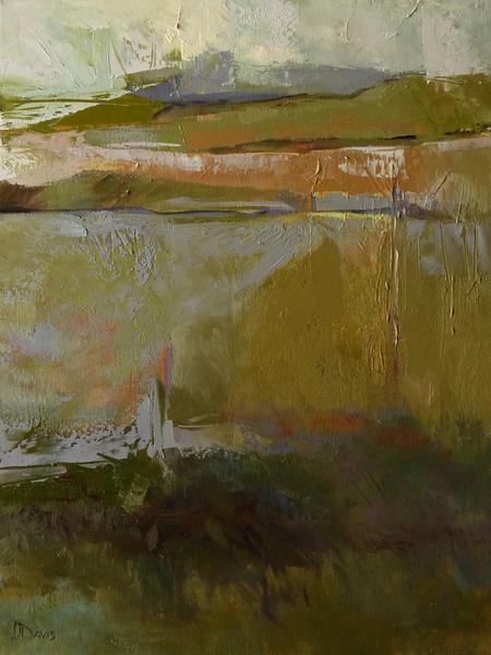 "Prairie Dusk    Oil canvas  24"" x 18""  Price: $1500"