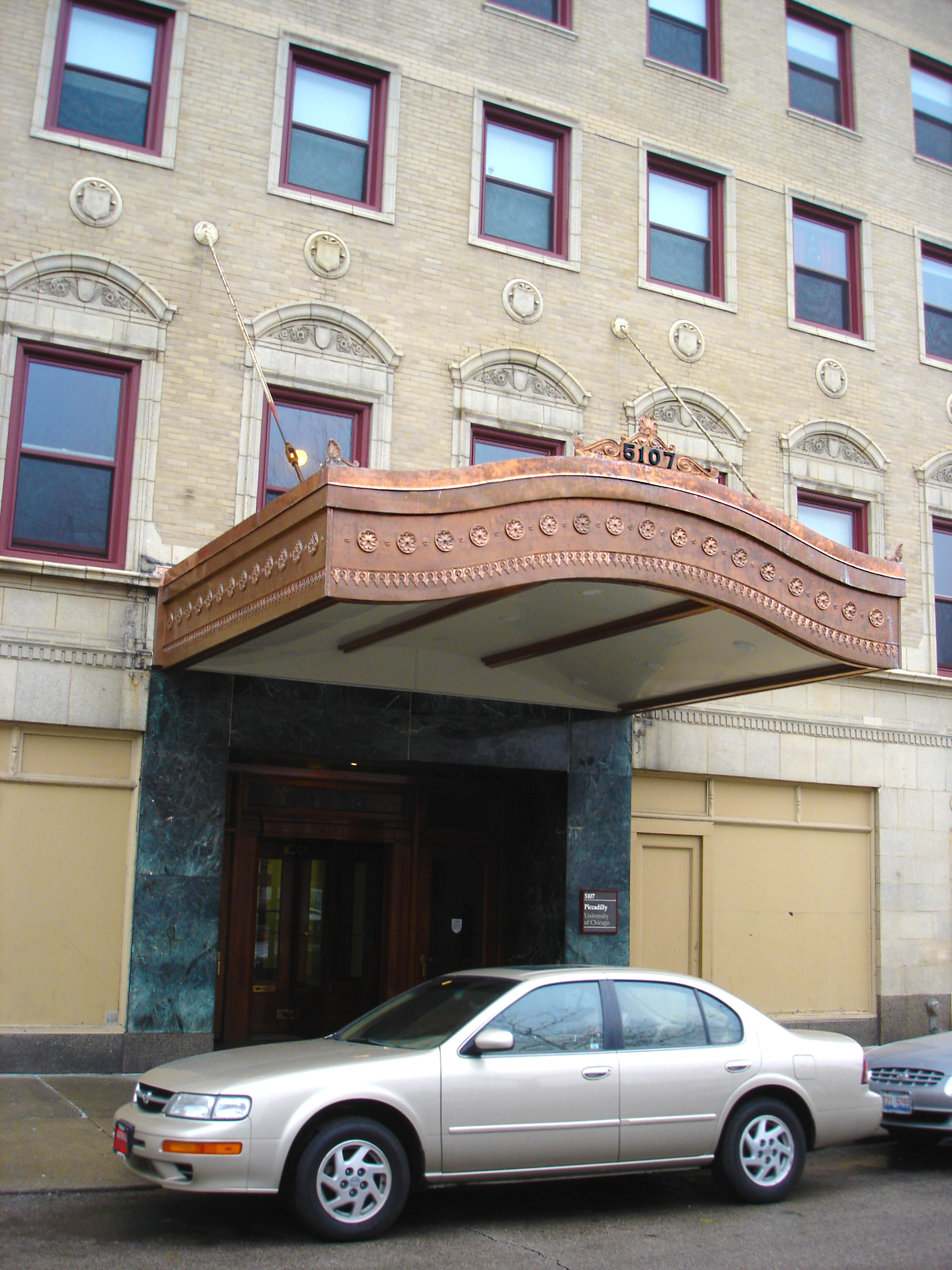 custom renovation, commercial design, redesign historic building entrance canopy, copper, historic restoration