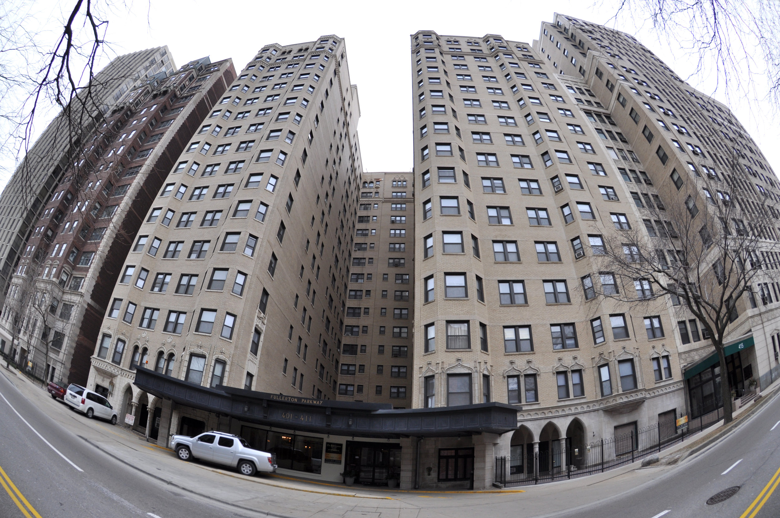 decorative terra cotta limestone highrise, ordinance-required exterior facade inspection, repair documents, construction observation, exterior repair restoration, construction administrative services