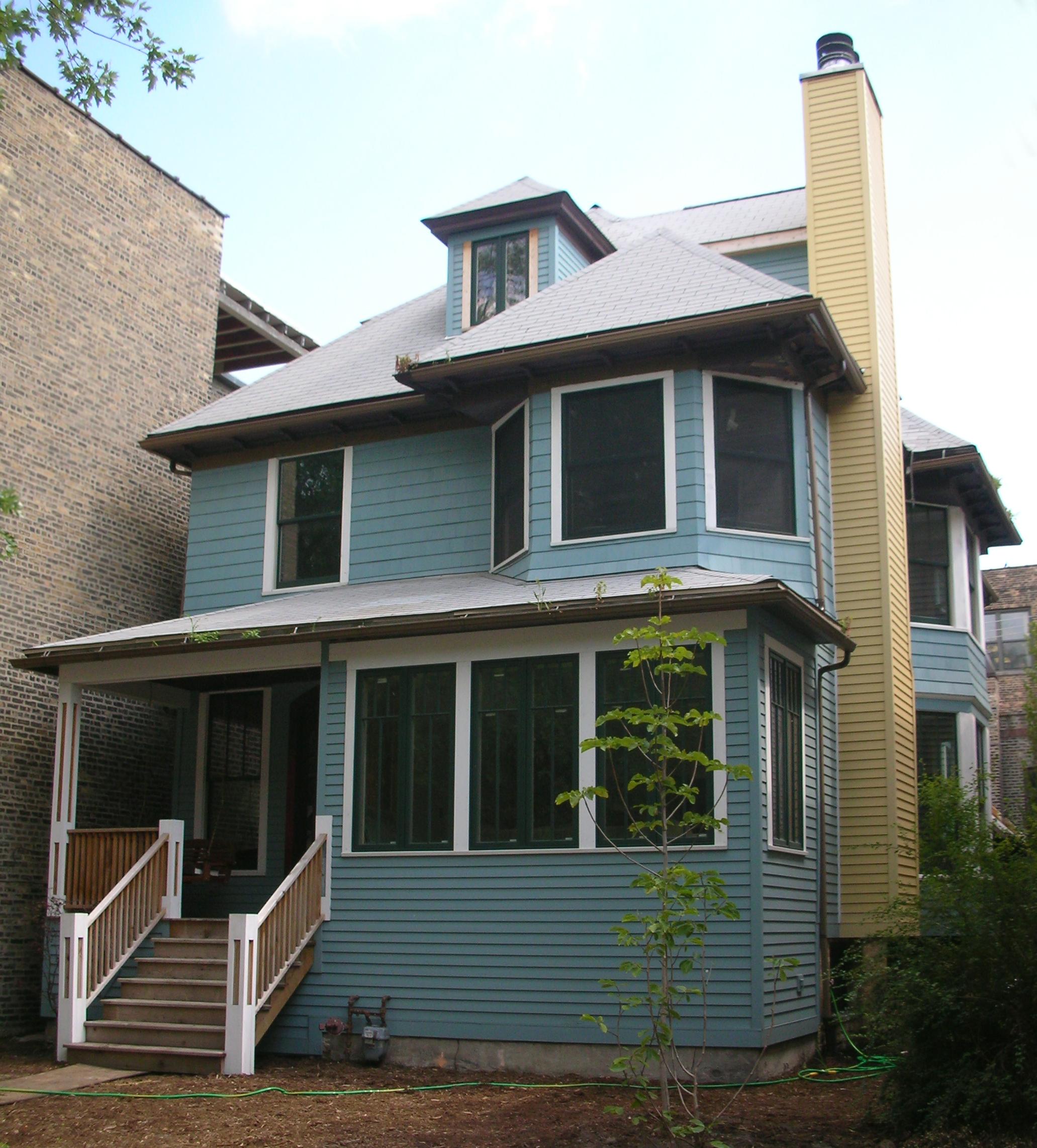custom single-family residential home renovation, 1920s four-bedoom house