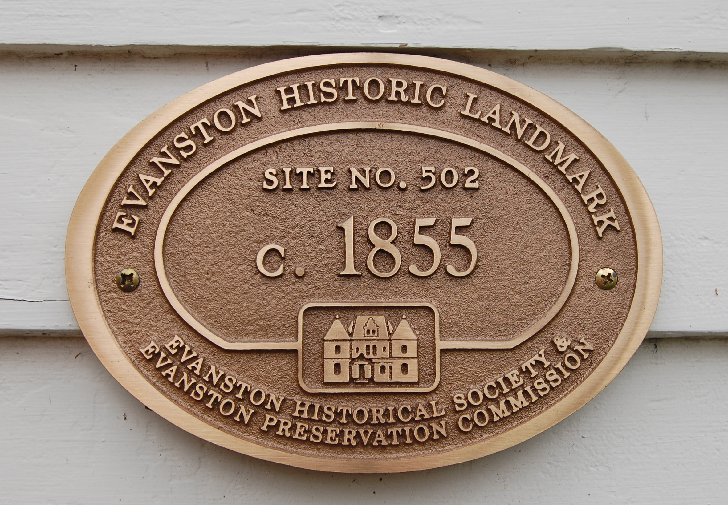 Evanston Historic Landmark, 1850s federal-style house, historic preservation, residential renovation, contextual design, Evanston Historical Society Preservation Commission