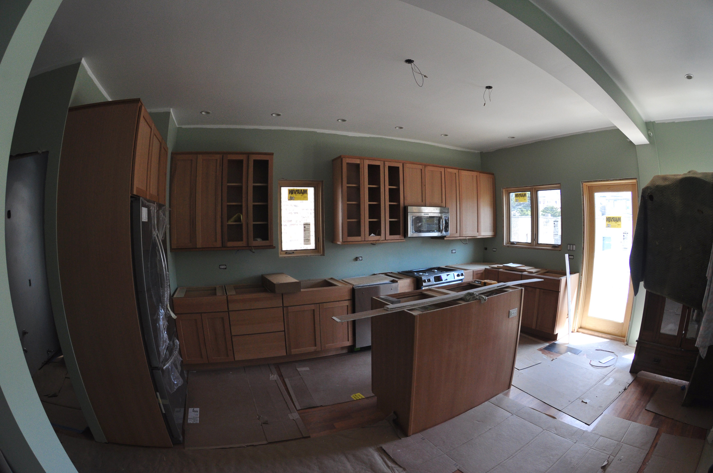 residential addition and kitchen renovation