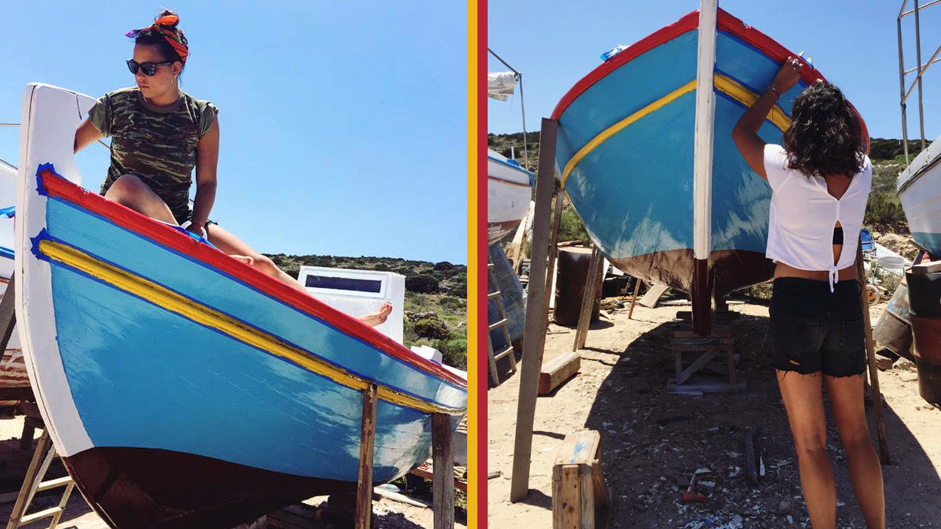 Popaganda - 11.7.2017   Η Χριστιάννα Οικονόμου έκανε τα καράβια να σταματήσουν να φοβούνται