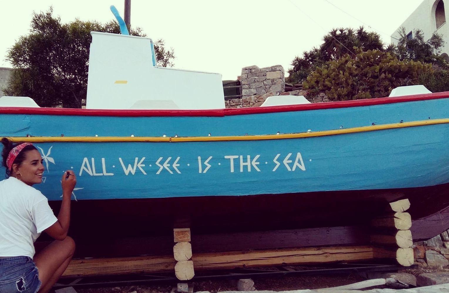Free Sunday - 7.3.2018   Τα καράβια της Χριστιάννας Οικονόμου δεν φοβούνται