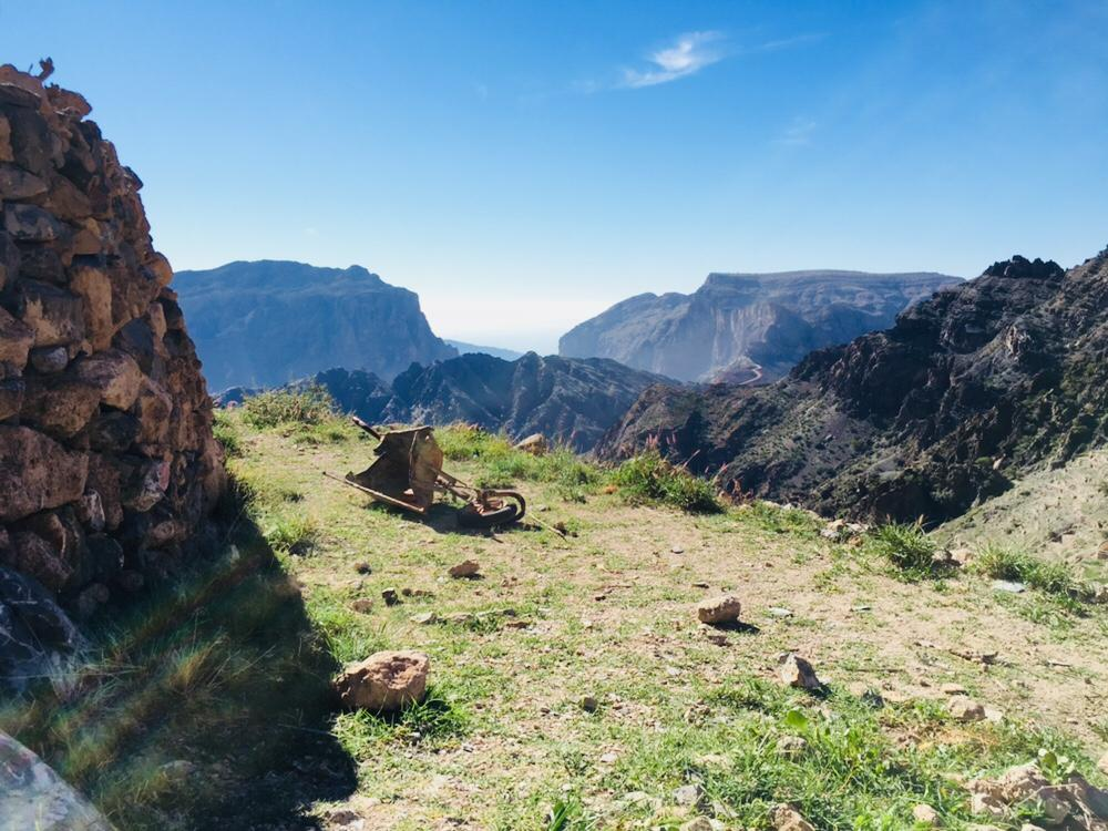 JAbal Akhdar - Higher up than most of our treks. A breath of fresh air, greenery and cooler temperatures.Trail Type: Loop TrailDistance: 18-20 kmTime: 10 hoursTerrain: Well defined paths, rocks, farm pathsSuitable For: Beginners, children 7 years and older