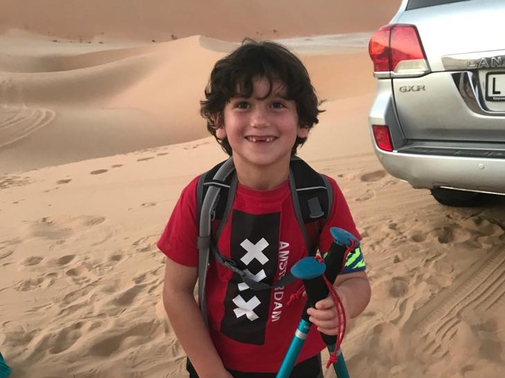 Liwa Family Campout - Bring the family out for an overnight campout and hike through the dunes of Liwa.
