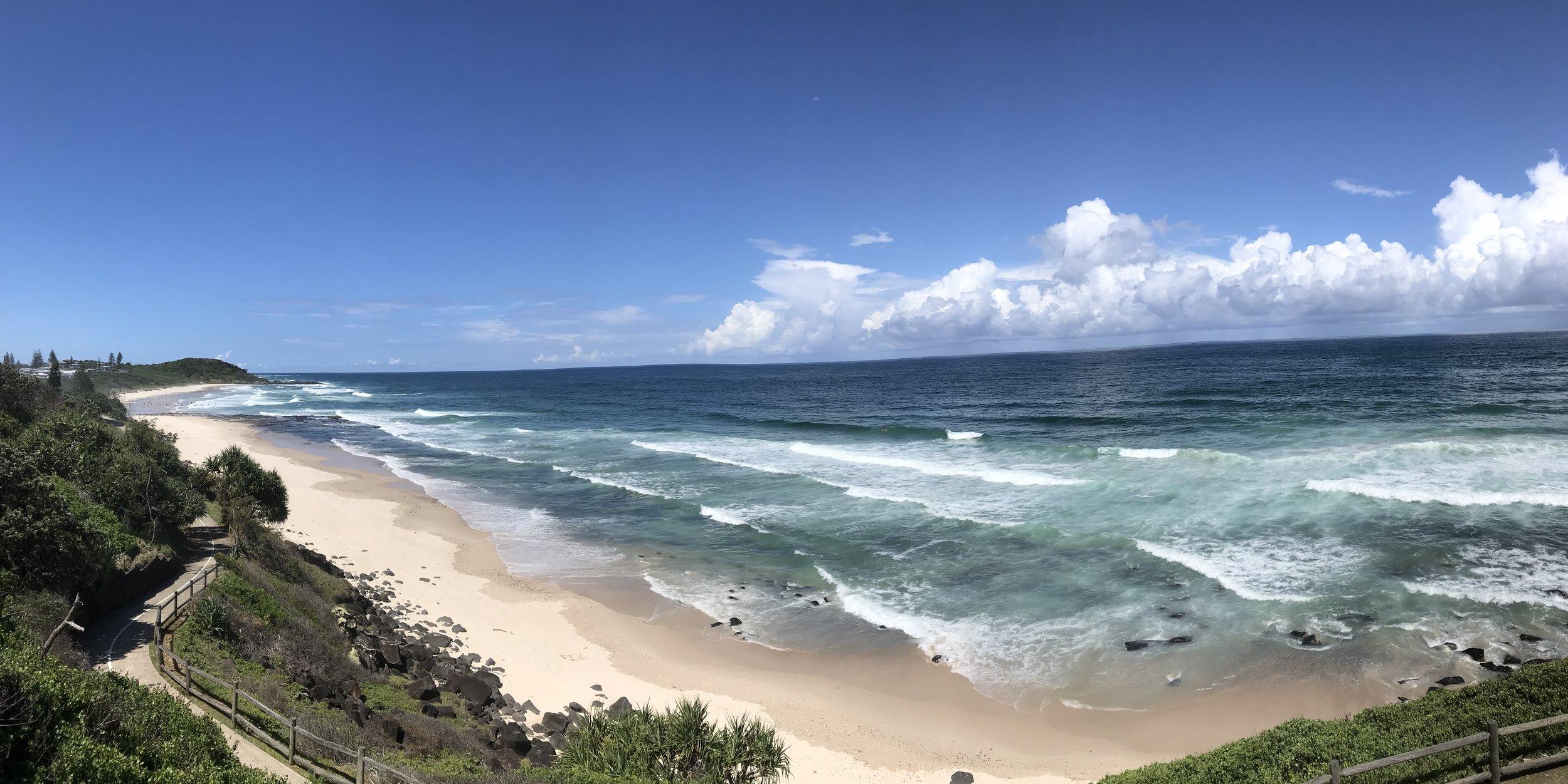 Balina surf beach.