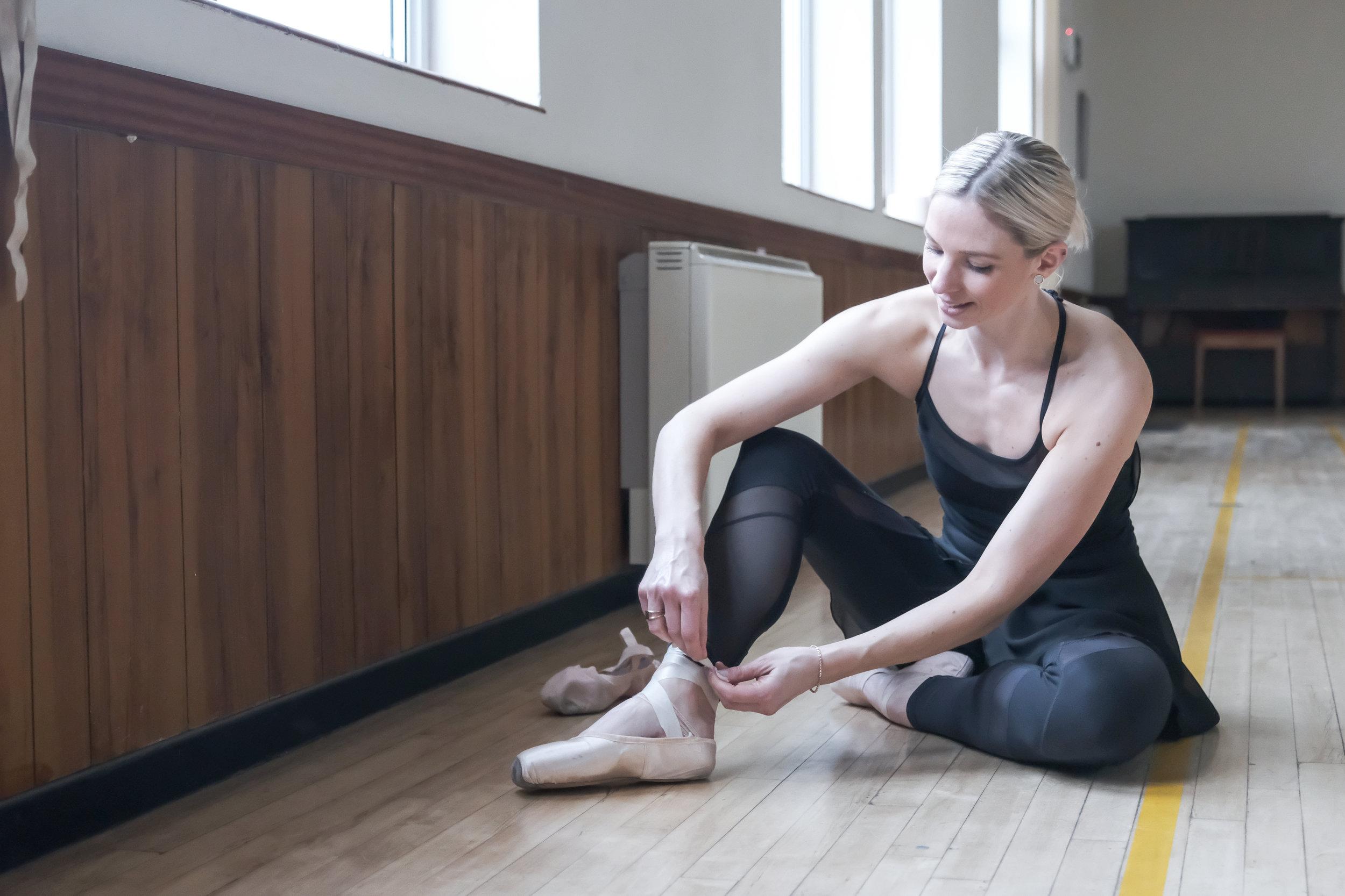 Faye, of Dilys Dance Studio.