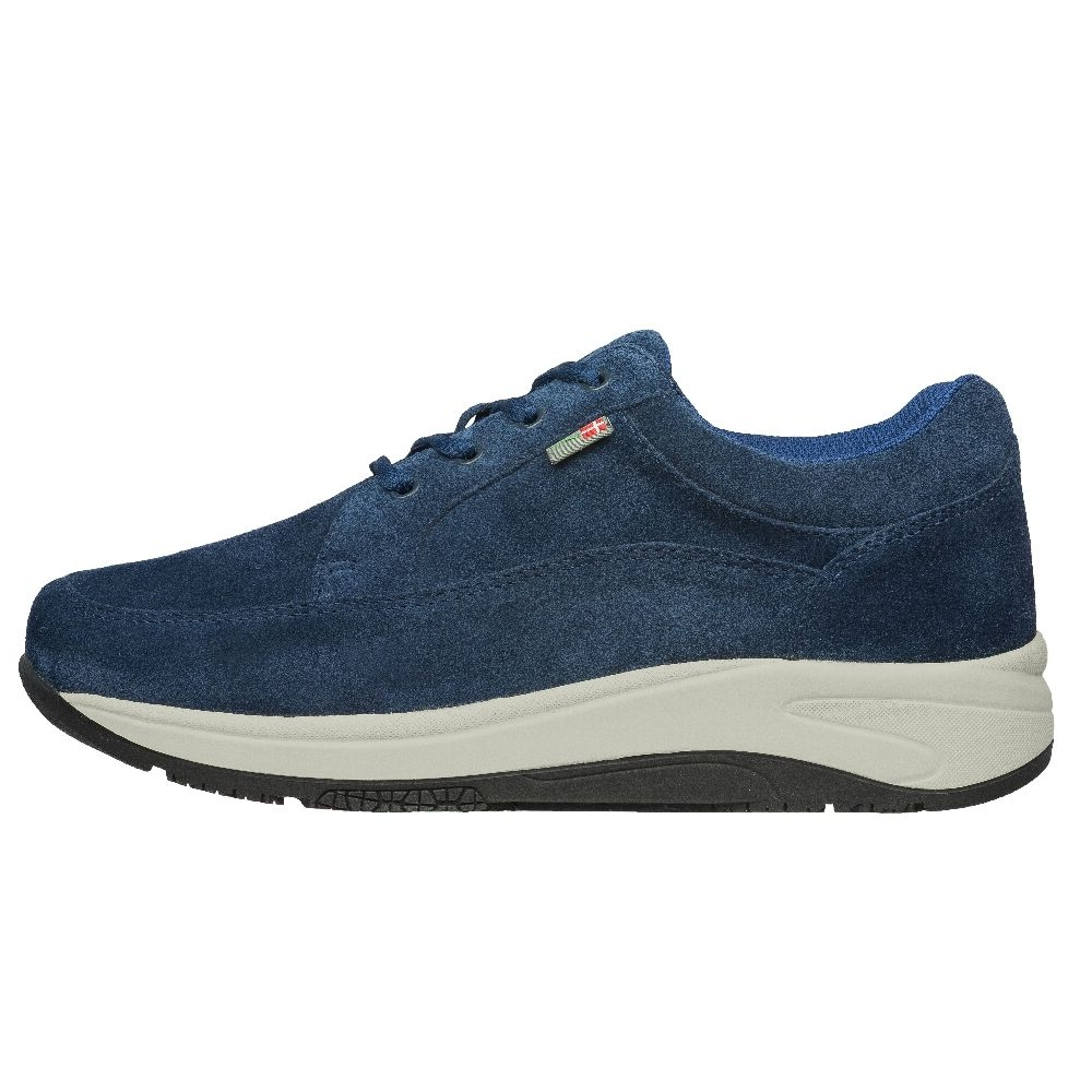 Mover Suede Navy/Sand-Black