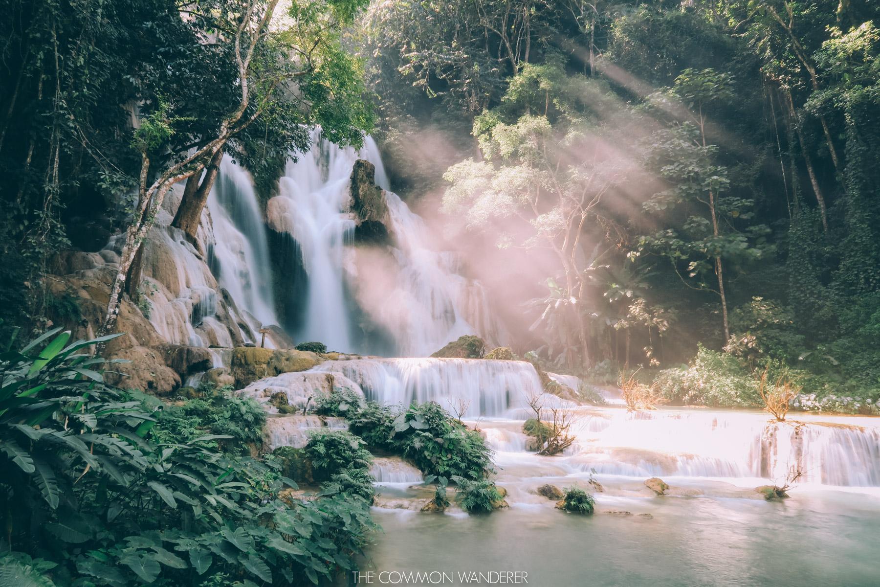 Luang Prabang things to do - Kuang Si Waterfall