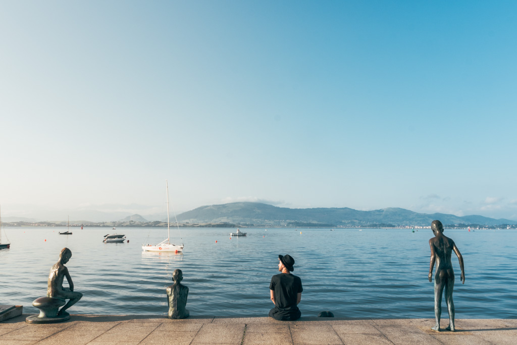 Looking at the view from Santander, Spain - The Common Wanderer