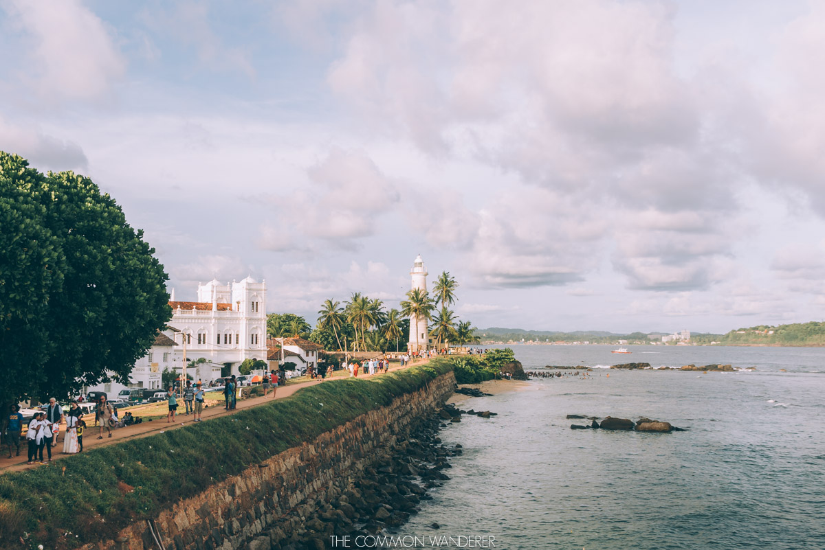 Galle lighthouse Sri Lanka - best destinations to visit in 2018