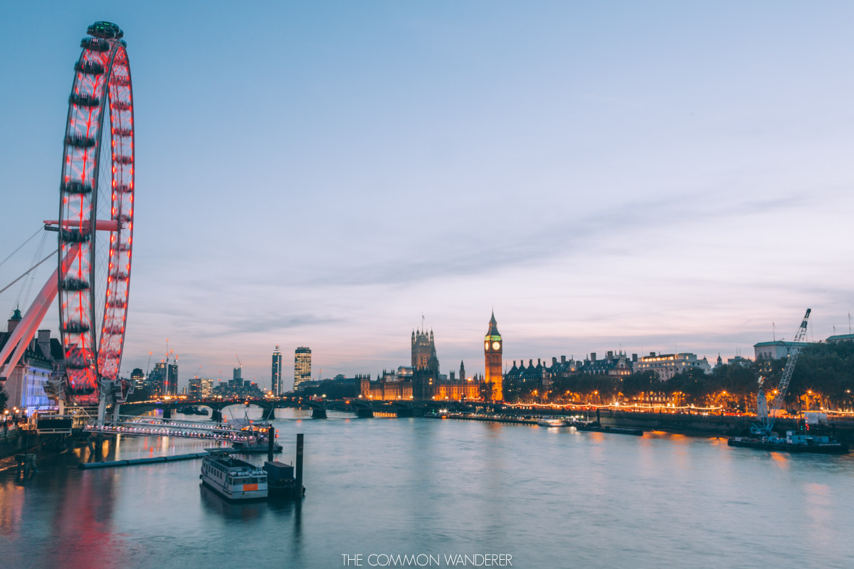 London eye and big ben - london - best destinations to visit in 2018