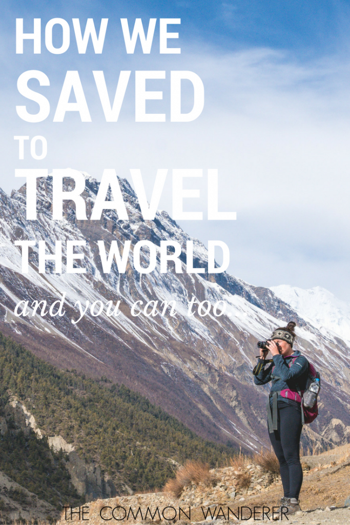 How you can save to travel