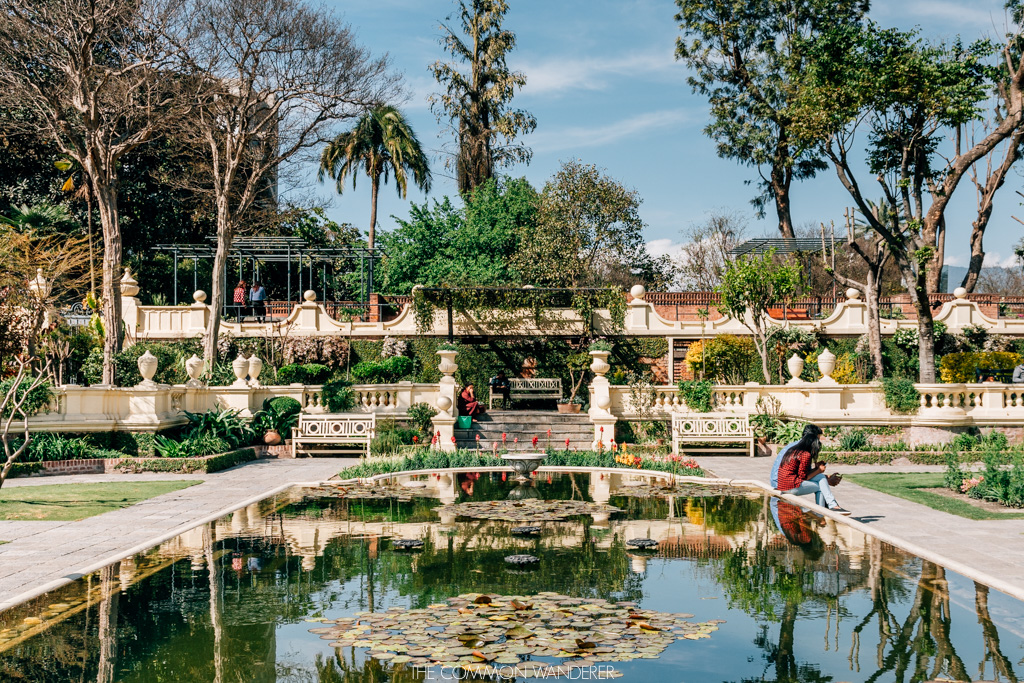 The peaceful Garden of Dreams in Kathmandu_The Common Wanderer