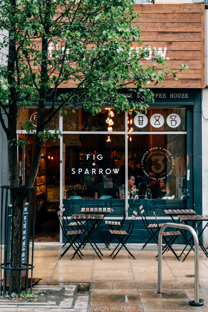 Fig and Sparrow Northern Quarter Manchester food
