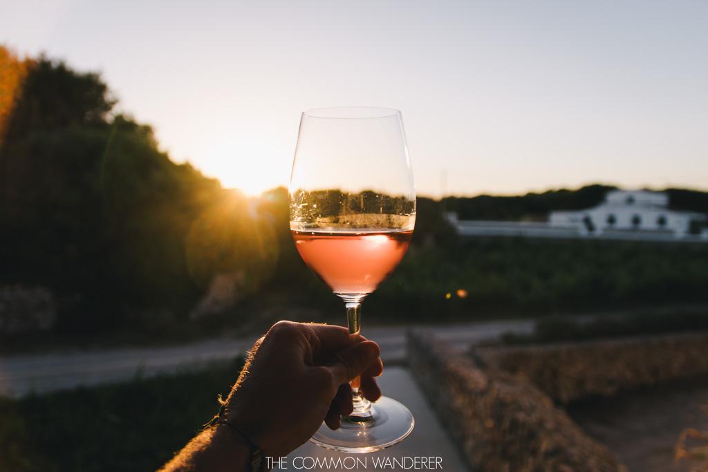 Menorca spain - bodegas binifadet wine