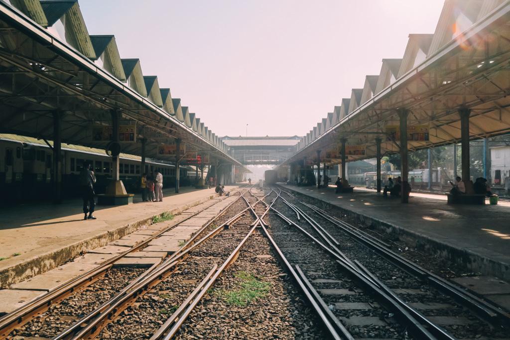 Yangon Station on the Yangon circle line