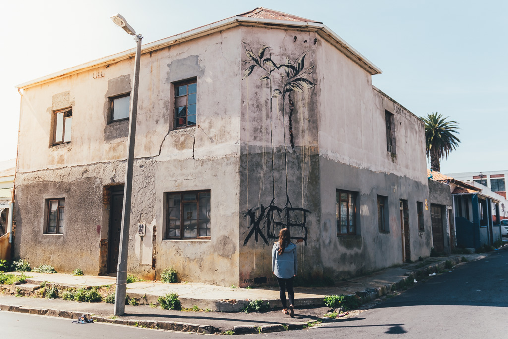 Street art tour of Woodstock, Cape Town