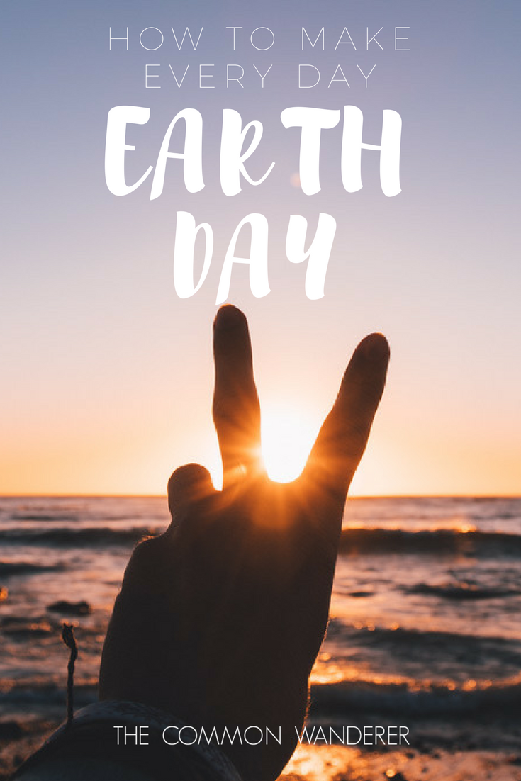 We all have a responsibility to make the earth a better place to live. Here's our tips on how to make everyday Earth Day.
