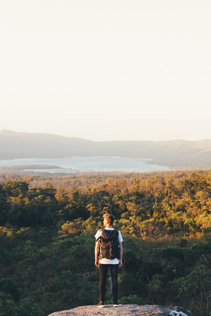 Overlooking Lake Wartook in the Grampians National Park, Victoria