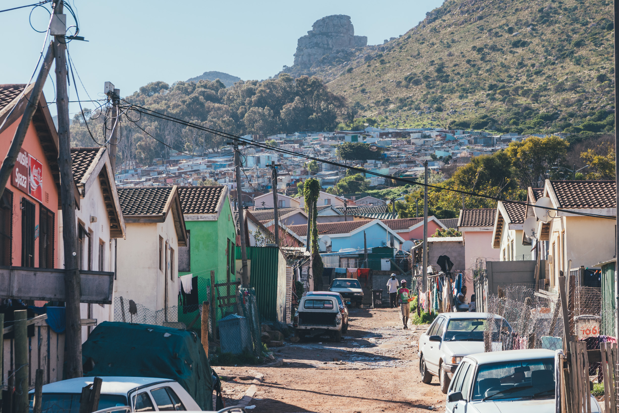 Imizamo Yetho township in The city of Cape Town