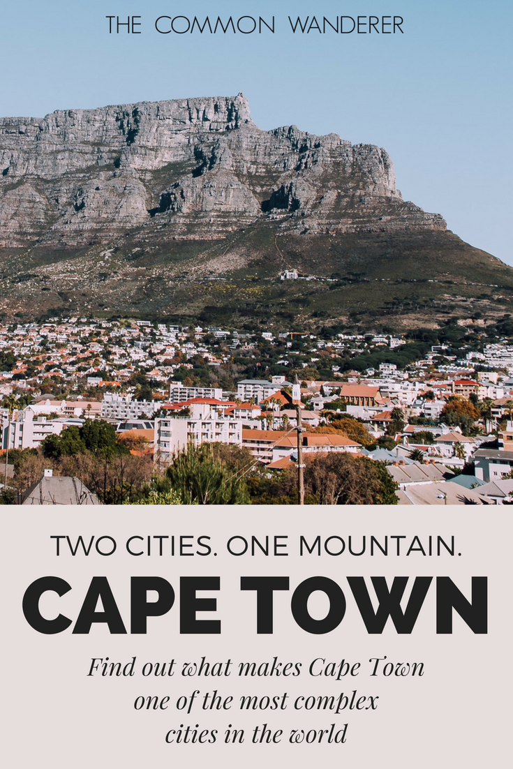 In the city of Cape Town, ghosts of the apartheid era still linger. Despite its history, the city is slowing moving towards a more equal society for all.