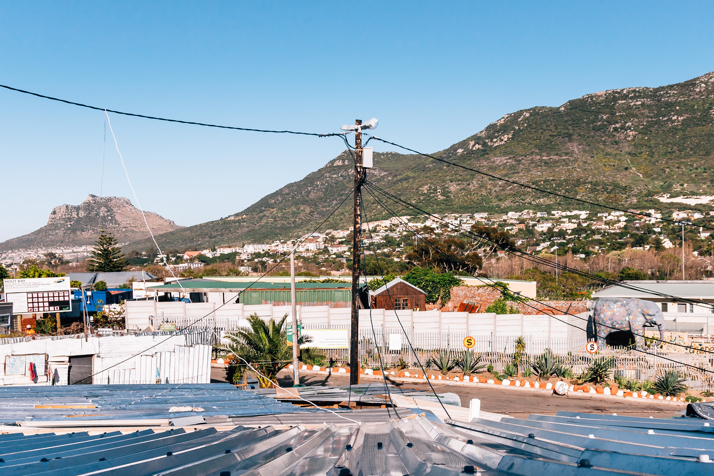 exploring Imizamo Yethu on our Faces of Cape Town tour