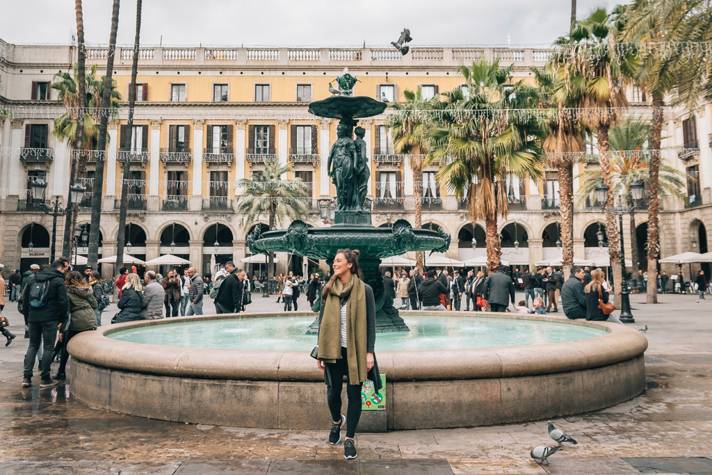 our plans for 2017 include more travel, like visiting Barcelona