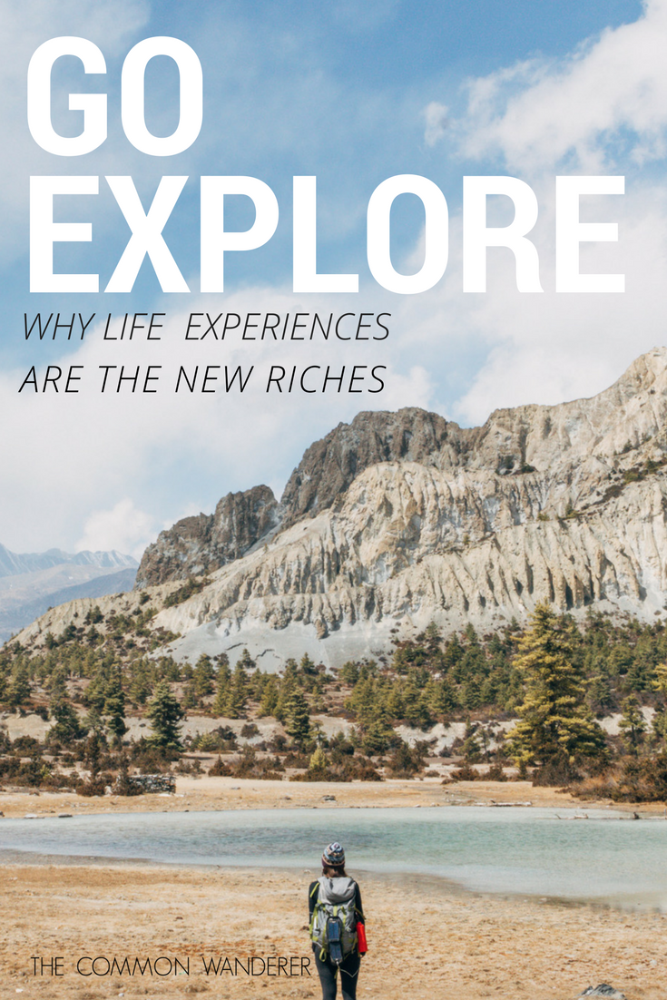 Research suggests that life experiences bring more lasting joy than material possessions. So what are you waiting for? Invest in a life experience today!