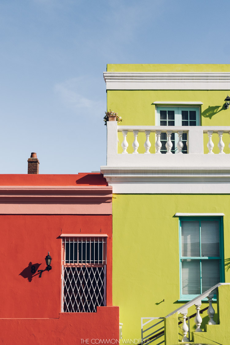 the colourful houses of Bo Kaap