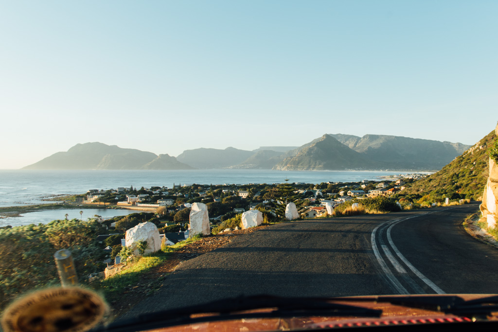 The road to Cape of Good Hope, Cape Town