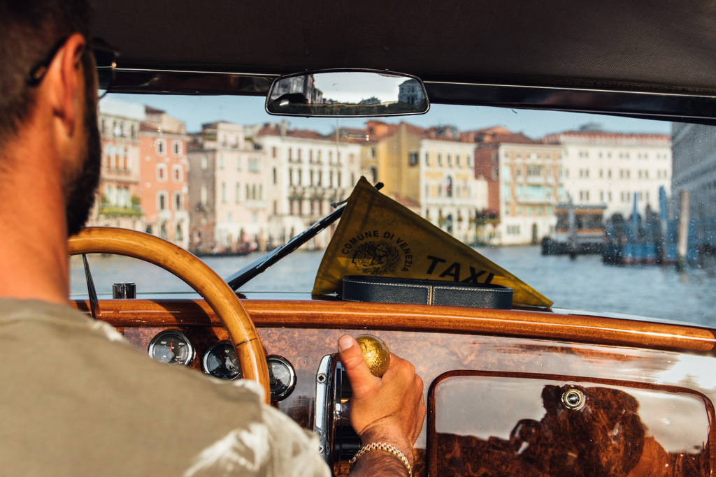 The Common Wanderer - Water Taxis in Venice