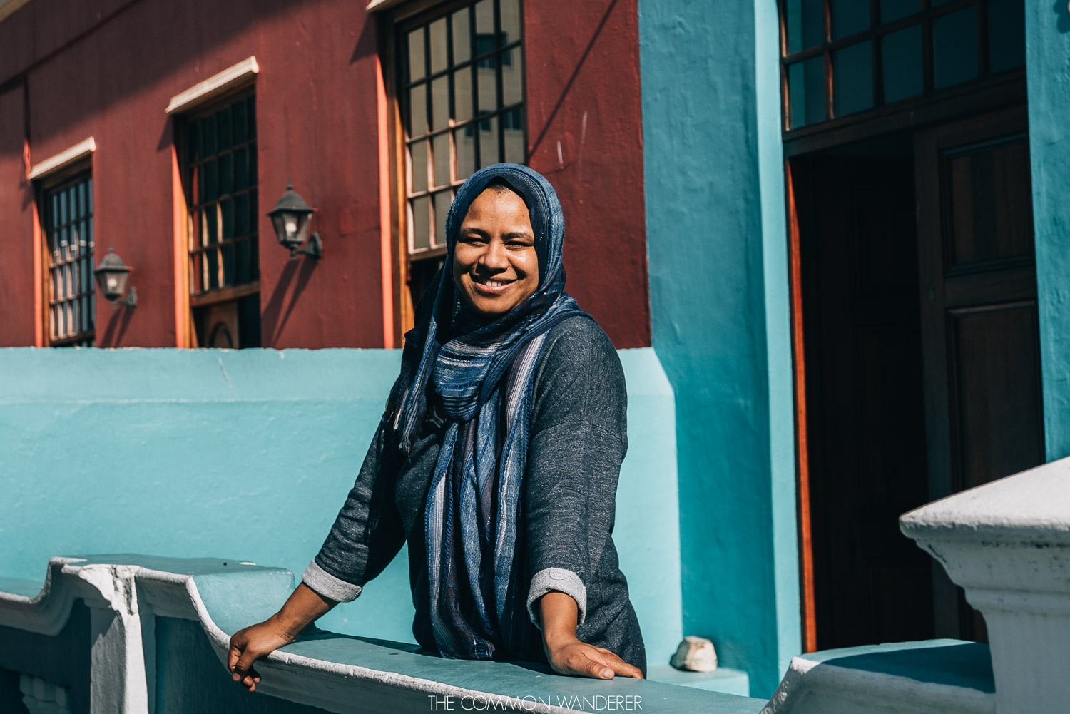The Common Wanderer - smiling faces of Bo-Kaap, Cape Town