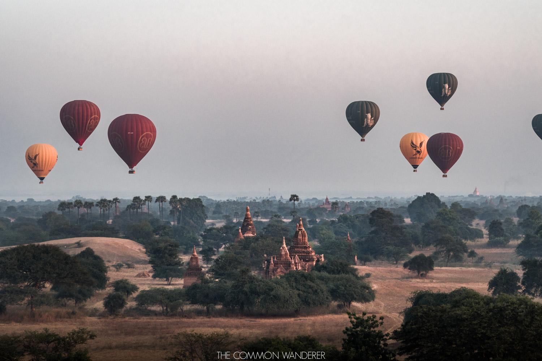 Favourite Travel Experiences, Bagan sunrise