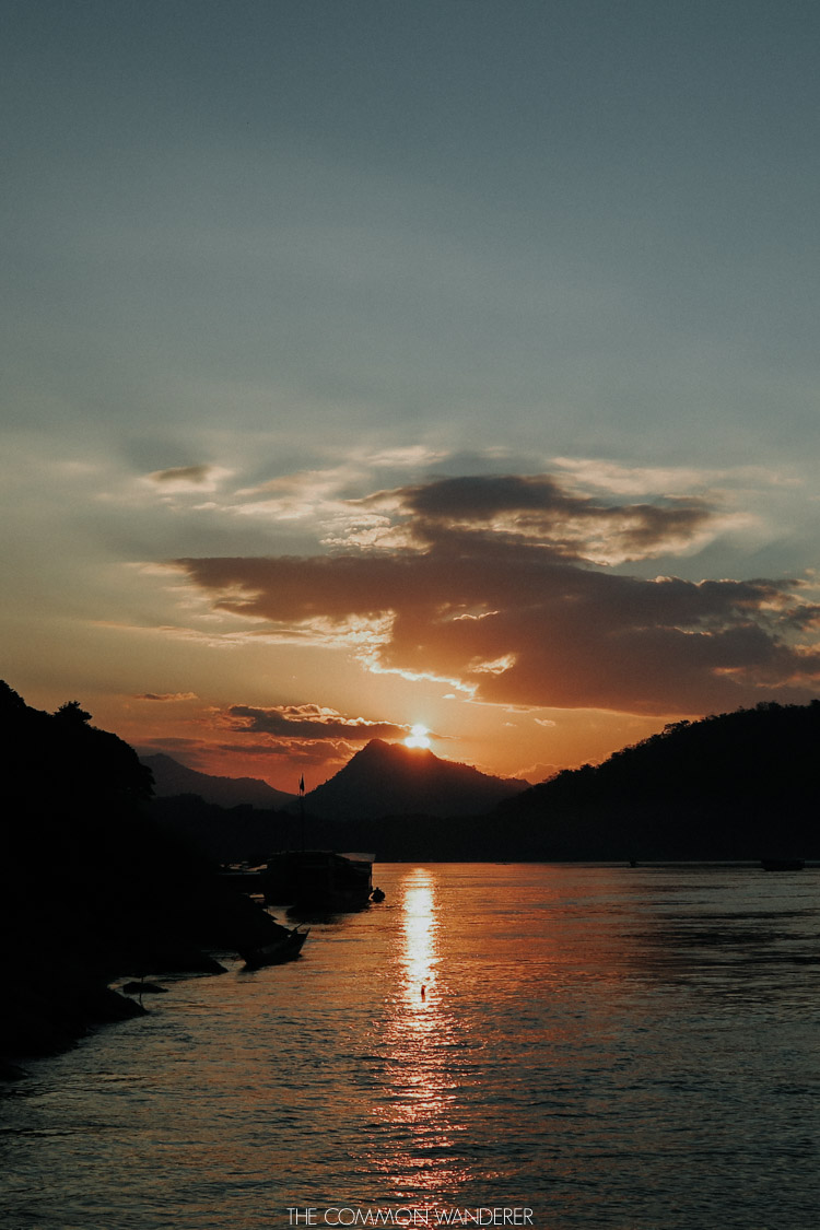The Common Wanderer top 5 most photogenic destinations in Southeast Asia Luang Prabang sunsets Laos