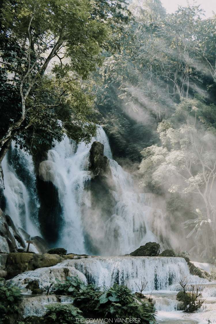 The Common Wanderer top 5 most photogenic destinations in Southeast Asia Luang Prabang Kuang Si Falls